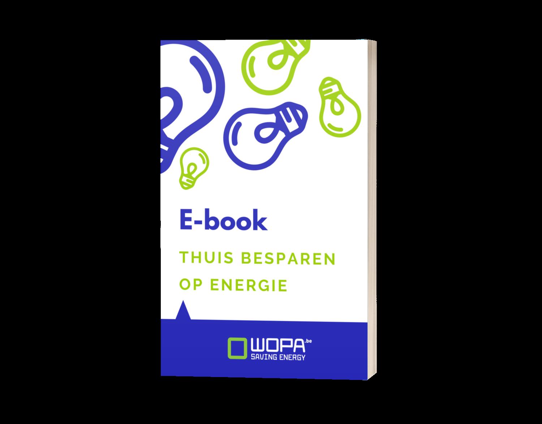 Gratis E-book Thuis Besparen op Energie