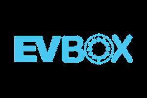 Logo Evbox laadsystemen WOPA