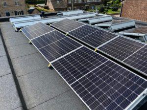 Leggen van zonnepanelen in Bilzen