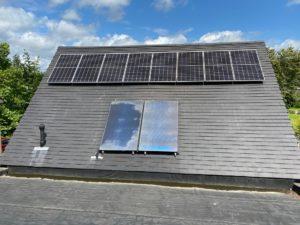 Plaatsen van zonnepanelen in Hasselt