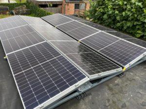 Plaatsen van zonnepanelen in Lanaken