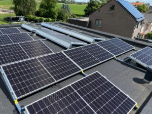 Plaatsing zonnepanelen te Riemst